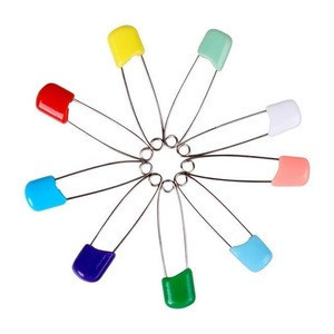 Colorful Plastic Head Baby Safety pins