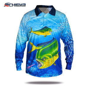Custom long sleeve fishing shirts ,wholesale tournament fishing jersey fishing clothing