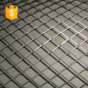 Decorative wire cutting honeycomb oxydic aluminum Expanded Metal Mesh