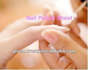 Don't miss this time Japan Nail Polish Sheet 4sheets/piece wholesale