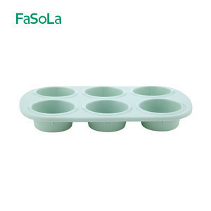 FaSoLa Six silicone cake molds baking mould Circular cake pan Silicone toast mold Baking accessories