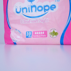Feminine hygiene products of sanitary napkins feminine pads