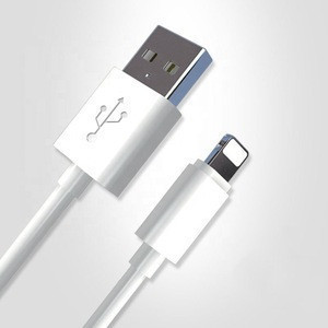 For iPhone 8 X XS TPE mfi certified charging usb data cable 2.1A super speed mobile phone charging usb cable Integrated molding