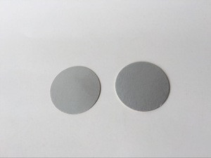 Heating resistant aluminum cap liner induction bottle cap seal foil