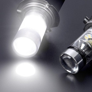 High Power LED H7 Bulb 100W 20LED Car Fog Light Lamp Headlights 6000K White