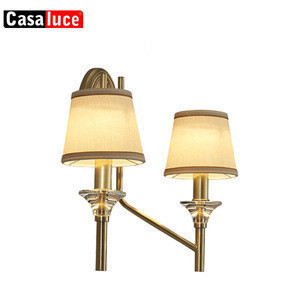 Import Hot Sale Factory Cheap Price Indoor Hotel Crystal Wall Light Single Lampshades Fabric Wrought Iron Handle Brass Wall Lamp Design From China Find Fob Prices Tradewheel Com