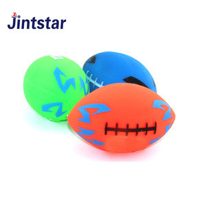 Jintstar wholesale junior size PVC american football custom small PVC football rugby ball