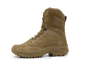 Jungle army safety shoes/military combat tactical desert boots