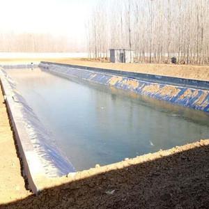 Landfill HDPE  Plastic Liner Waterproofing Geomembrane for pond waterproofing lining in Brasil