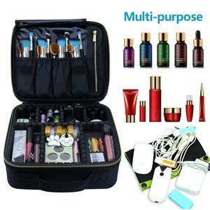 Makeup case professional makeup case vanity makeup box training case bag