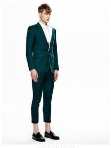 Mens blue dark blue wedding suit, made to measure business suit