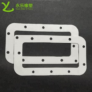 Moulding white silicone rubber foam sponge cushion gasket mat