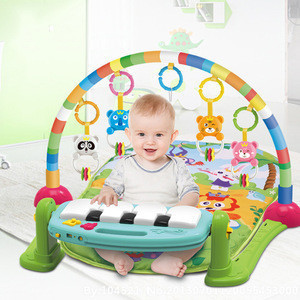 Musical Kick And Play Baby Playing Bed Gym Piano Play Mat