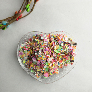 Nail Jewelry Soft Ceramic Pastry Slices Fruit Pieces 2000 Pieces Mixed Wholesale Mobile Beauty Patch