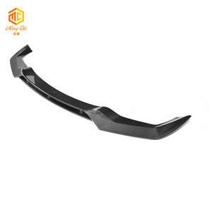OEM M2 V carbon fiber front bumper lip for BMW M2 F87 front bumper separator-2020