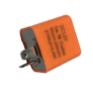 Orange can FM DC 12V  flasher relay