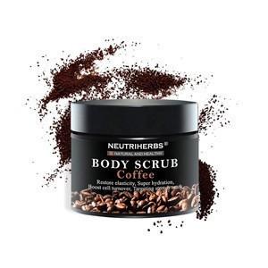 Private Label Skincare Neutriherbs Natural Herbal Moisturizing Coffee Korea Body Scrub For Women Skin Care