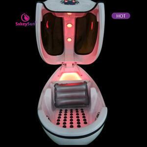 Sales hot selling 2020 Far infrared spectrum light wave spa jet capsule/spa capsule sauna/ozone sauna spa capsule