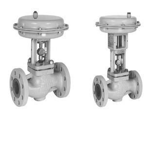 Samson control valves 3241 globe valves combine with  samson valves positioner