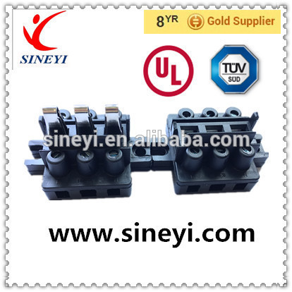 Sineyi high quality male and female connector M29Knife switches 3 pin