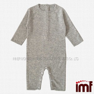 Soft Touch Cashmere Knitted Baby Romper