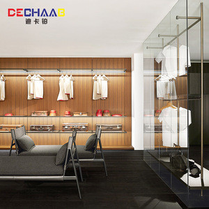 Solid wood cloakroom assemble dressing room open wardrobe design
