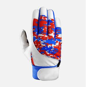 Sublimation Men Adults Customize Baseball Batting Gloves