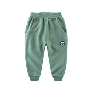Top Leader 2018 New Cotton Fashion Autumn Solid Color Pants Sports Long Trousers for Kids Baby Boys Clothes Children Clothing