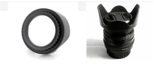 Wholesale Customized Camera Accessories DSLR 55mm Lens Hood Manufacturer in China