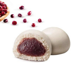 Wholesale Traditional Chinese Breakfast Frozen Steamed Red Bean Paste Bun
