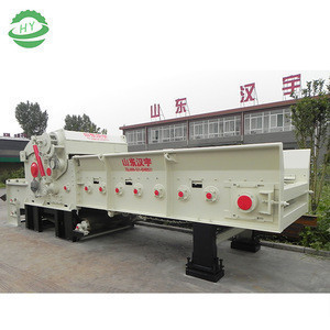 Wood chipper for Plam tree and waste wood