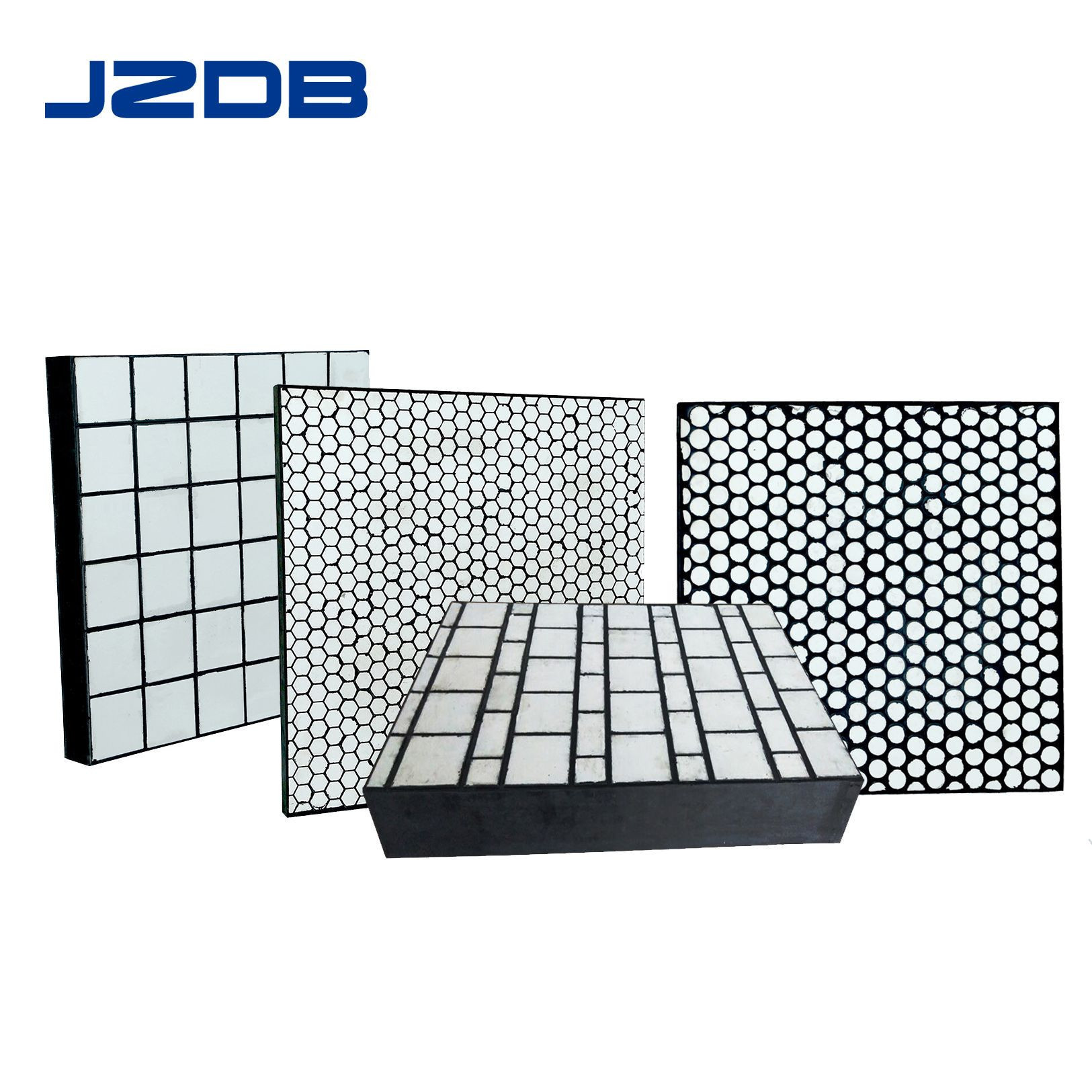 Wear and Impact Resistant Composite Ceramic Liner Rubber Ceramic Lining Plate