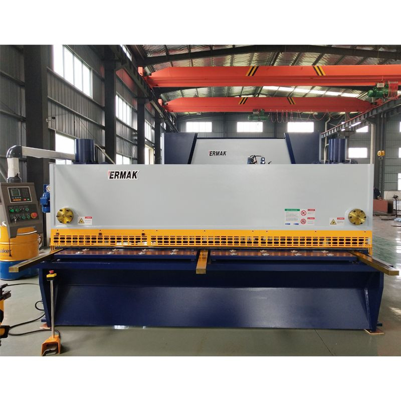 Import Auto 4mm 6mm 8mm 12mm 16mm Iron Stainless Steel Plate Sheet Electric CNC Metal Hydraulic Shearing Machine from China