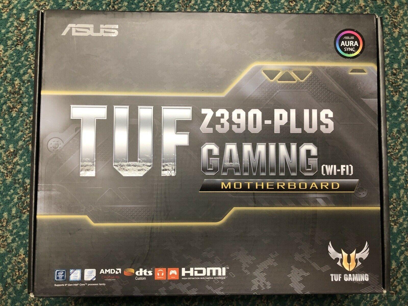Used ASUS TUF Z390-Plus Gaming Z390 LGA 1151 ATX Motherboard