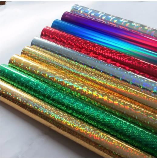 Colorful hot stamping foil