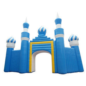 13*3.5*9.5m advertising inflatable arch for water park gate advertising inflatable entrance arch gate for sale