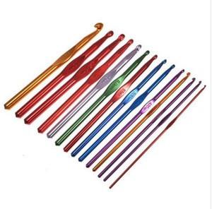 14pcs Multicolor Aluminum Crochet Hooks / Knitting Needles / Knitting crochet