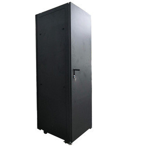 19 inch 42U 600 mm Depth Standing data center network Server Rack mount Cabinets with air conditioner