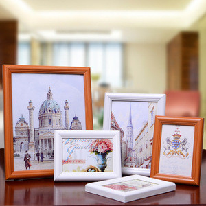 2018 hot sale china supplier wooden picture frame wooden frame