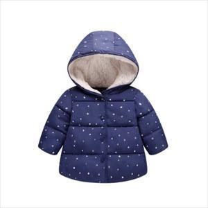 2018 New Blue Children Winter Jacket Girl Winter Coat Kids Warm Thick Fur Collar Hooded long down Coats For Teenage