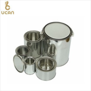 500ml plain empty Cans For Packaging Engine Oil, glue, paint and lubricant, metal container