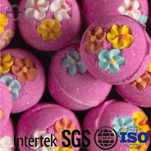 Amazon OEM brand Organic bath salt fizzer factory