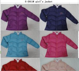 Baby Girls cute winter padding jacket
