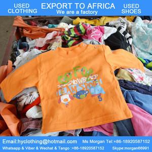 Bulk Wholesale to Africa 100Kg Children Summer Wear Bundle Used Clothing