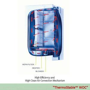DAIHAN Oven High Clean Air, 560lit. WOC-560, 230V 3Phase
