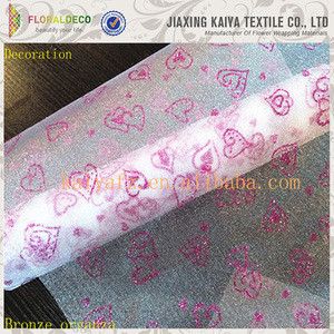 Decoration Material Packaging Organza Roll