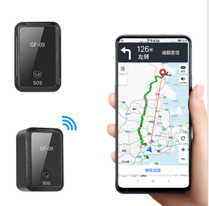 Factory cheap price mini device Real-time GPS Tracking waterproof GPS car tracker GF09 for heavy truck vehicle gps tracker