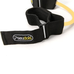 Foot Leg Ankle Resistance Training Speed and Agility Training Tool Resistance Bands  with Non-Slip Padded Ankle Cuffs