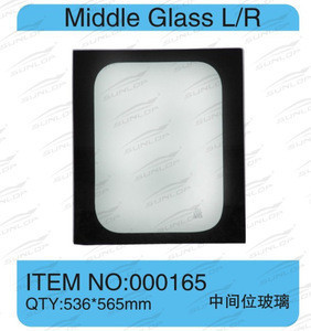 For hiace parts commuter van accessories 2KD bus parts body kits for hiace window glass middle glass #000165 KDH200