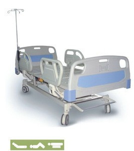 Foshan Hot selling 3 function manual hospital bed